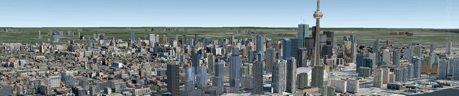 Toronto-Google-Earth